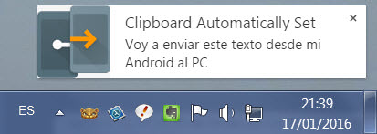 copiar texto android pc join joao
