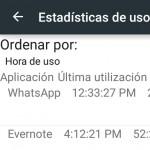 Cómo ver las aplicaciones USADAS o abiertas recientemente en Android