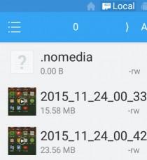 que hago para ocultar archivos android
