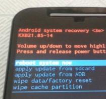 trucos con los botones de un celular android recovery