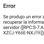 """Solución al aviso de la Play Store """"Se produjo un error al recuperar la información del servidor"""""""
