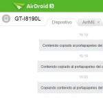 """Aplicación AirDroid ofrece más integración con el PC: Portapapeles compartido, """"AirIME"""" y más"""