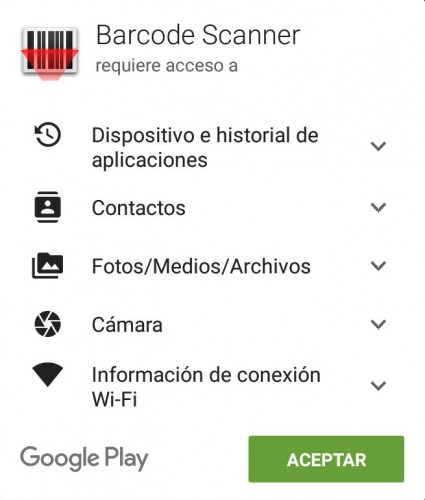 aplicaciones escanear codigos qr android