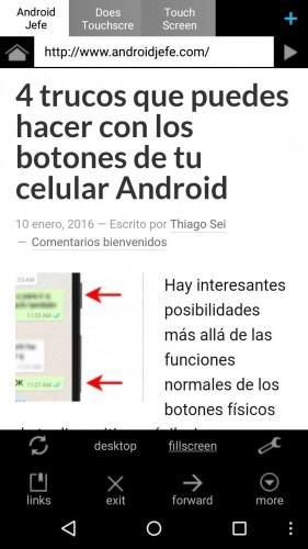 aplicaciones ligeras para android naked browser