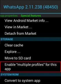 clonar duplicar aplicaciones android