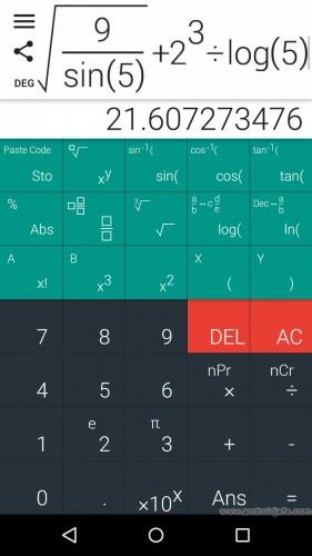 difícil ingresar ecuaciones calculadora