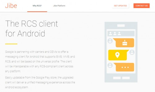 google operadores fabricantes rcs client