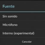 3 formas de grabar el audio interno de Android