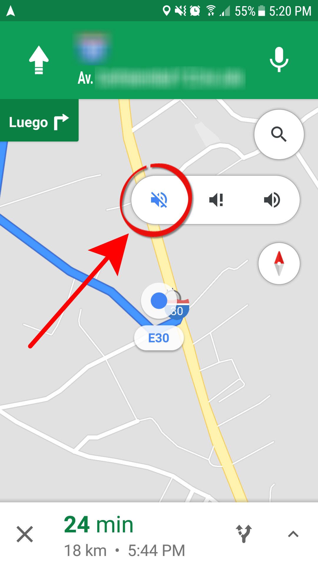 Cómo QUITAR la voz de Google Maps