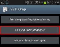No puedo descargar aplicaciones y tengo memoria dumpstate