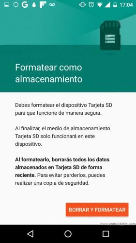 android 6 aumentar memoria interna