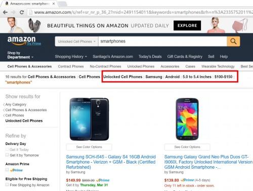 averiguar precios especificaciones celulares
