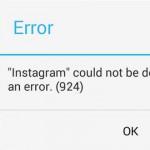 """Solución al """"error 924"""" que aparece al descargar WhatsApp y otras APPS desde la Play Store"""