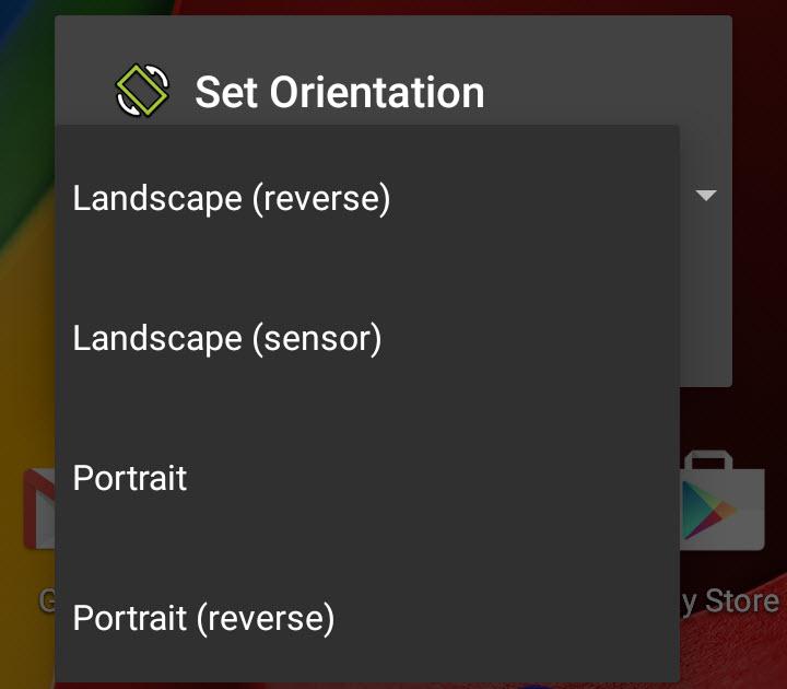 Cómo forzar una orientación horizontal o vertical en Android