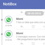 Guardar las notificaciones de Android con Notibox
