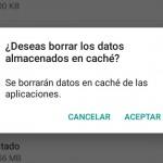 Solución de 30 segundos para el espacio insuficiente en Android