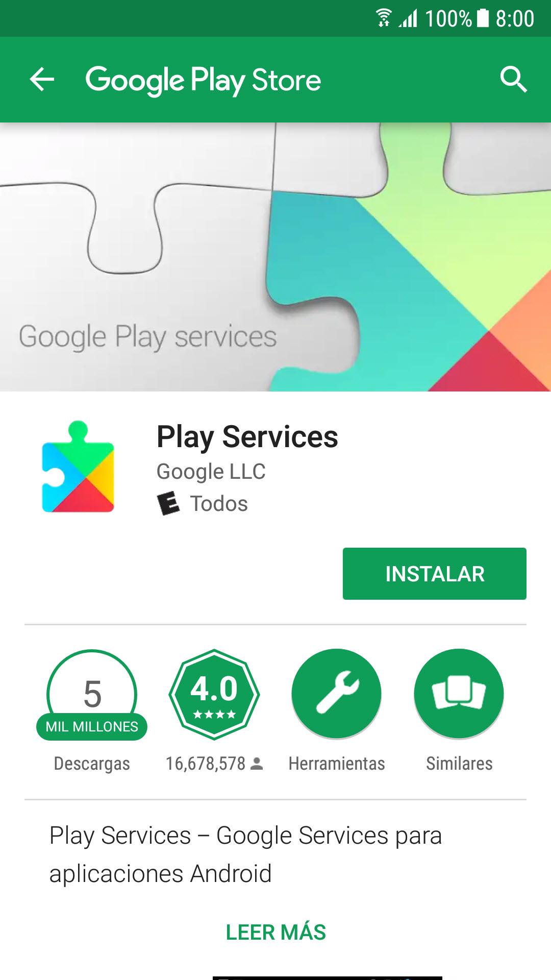 google play services apk descargar gratis