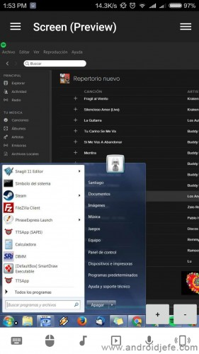 full unified remote preview