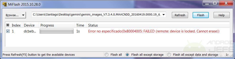Bootloader bloqueado, una pesadilla en los dispositivos Xiaomi