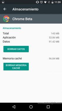 celular poca memoria interna borrar datos