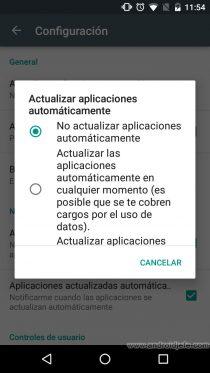 celular poca memoria interna no actualizar aplicaciones