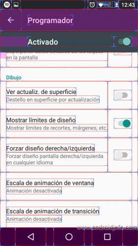 errores menu programador lineas