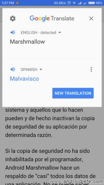 traducir sin salir aplicacion google traductor ventana flotante