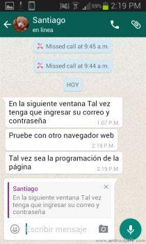 citar mensajes whatsapp