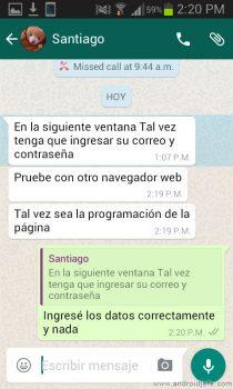citar mensajes whatsapp respuesta