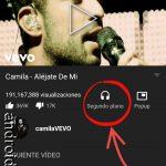 YouTube en SEGUNDO PLANO o con pantalla apagada