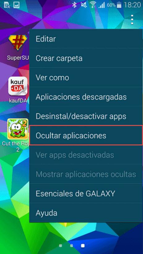 Cómo OCULTAR aplicaciones en Android