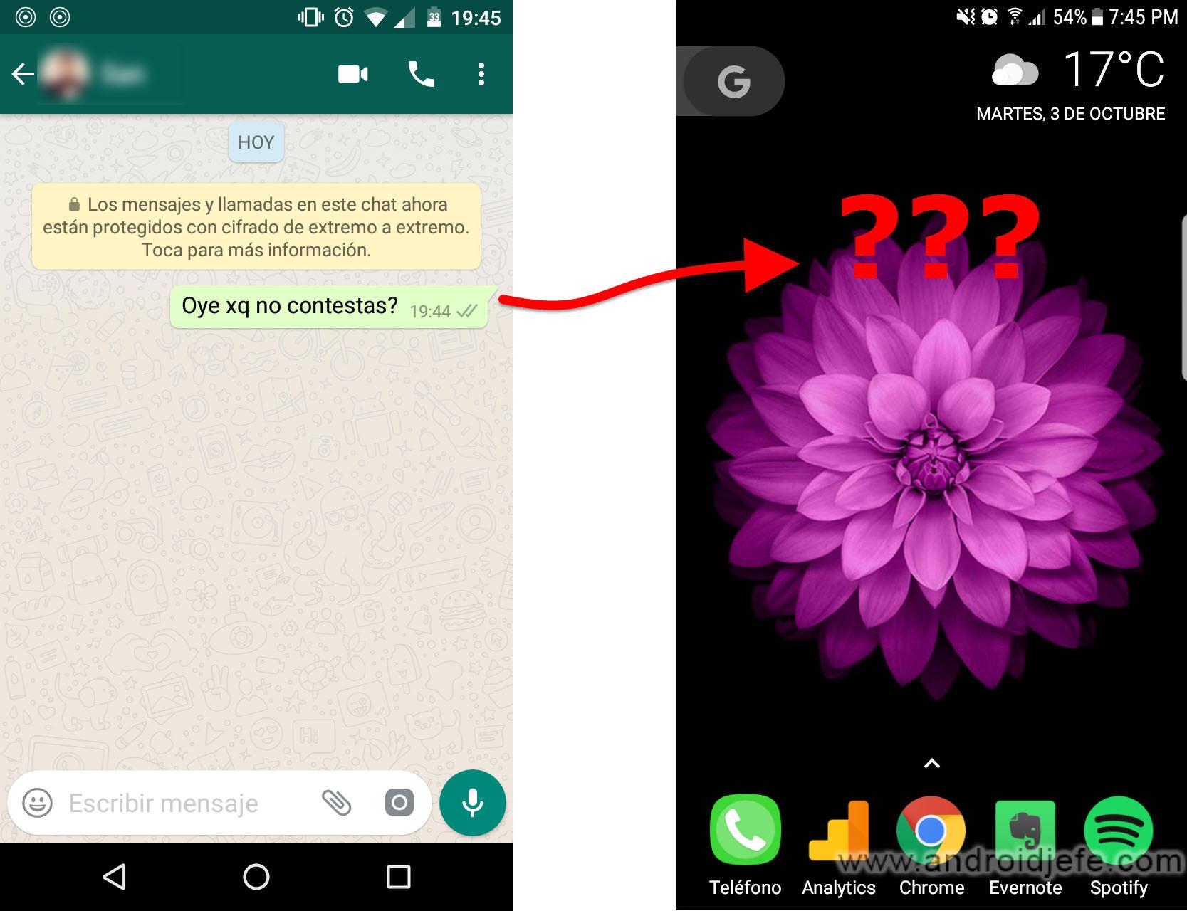 como ver todos los mensajes de whatsapp en la barra de notificaciones