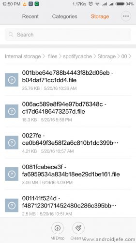 donde se descargan canciones spotify android 2