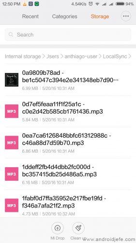donde se descargan canciones spotify android