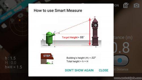 medir alturas