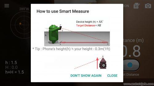 medir objetos distancias