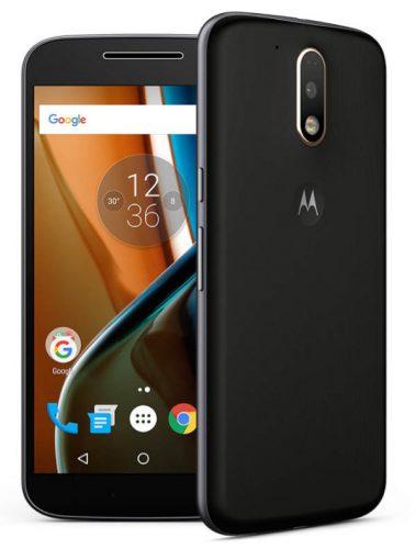 Moto G de cuarta generación. El primer Moto G fabricado por la empresa Motorola, tras ser adquirida por Lenovo.