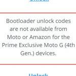 """No se puede desbloquear el bootloader del Moto G4 versión """"Amazon Prime Exclusive"""", dice el fabricante"""