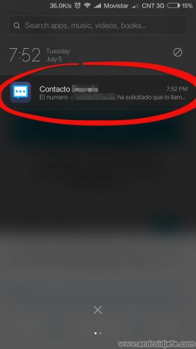 ocultar sms android notificaciones barra estado