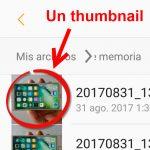 Thumbnails: Qué es y cómo los borro de mi celular para tener más espacio