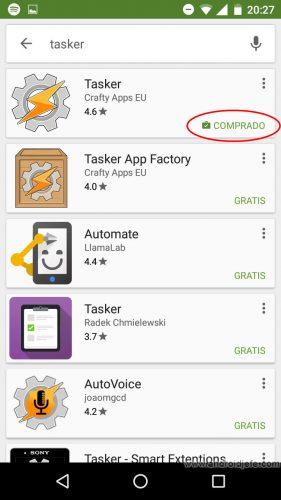 comprar app usarla otro celular