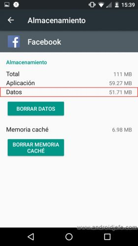 desactivar reproduccion automatica videos facebook android mb