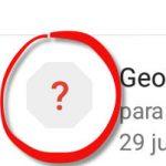 Qué significa el signo de pregunta que aparecen en un correo de Gmail