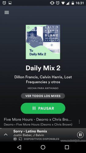 daily-mixes-spotify-reproducir