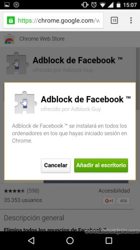 instalar-extensiones-chrome-pc-desde-android