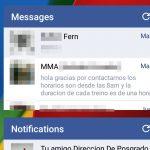 Cómo ver las notificaciones y mensajes de Facebook en la pantalla de inicio de Android