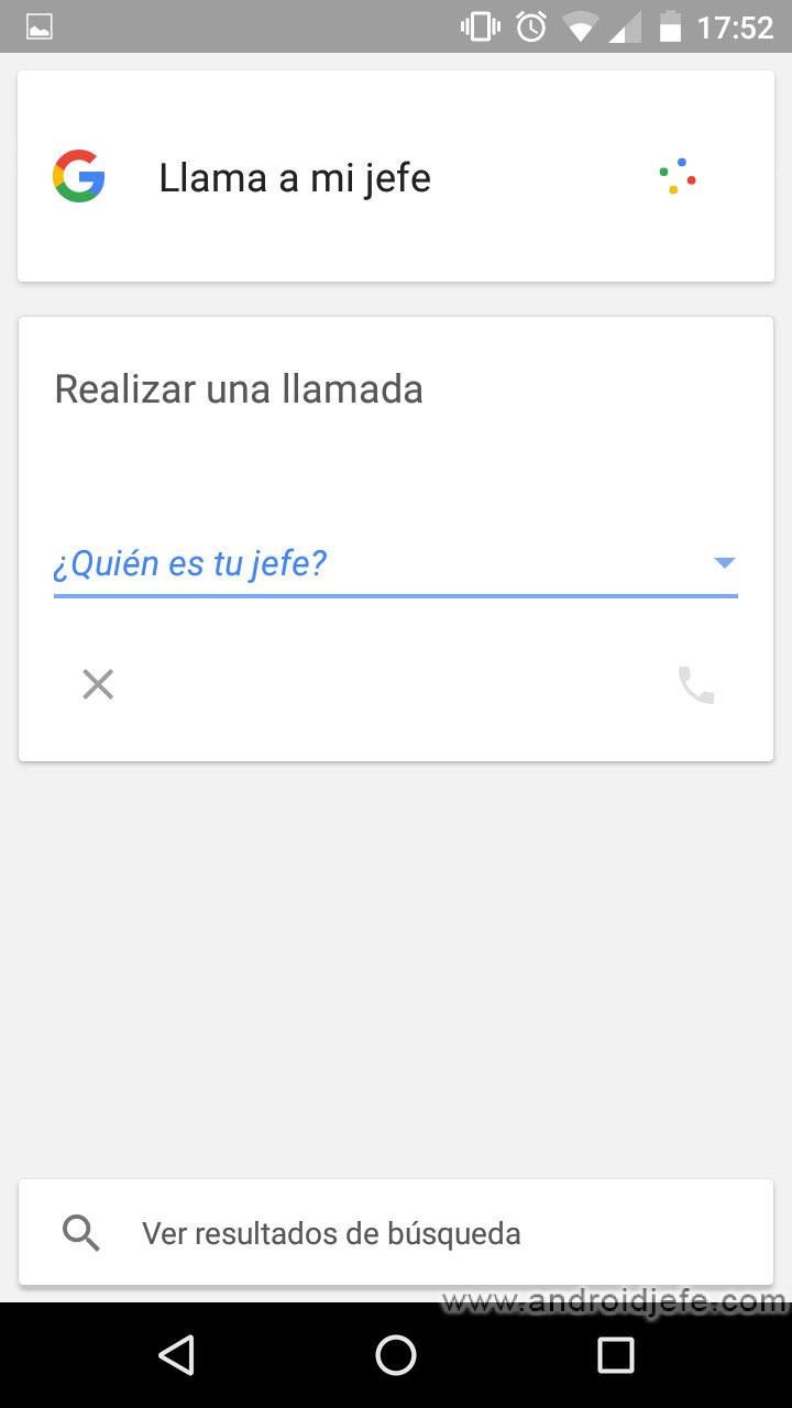 «OK Google, llama a mi jefe»: Cómo hacer que Android reconoza a mis contactos por su apodo