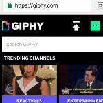 Descargar imágenes GIF animados para WhatsApp en GIPHY