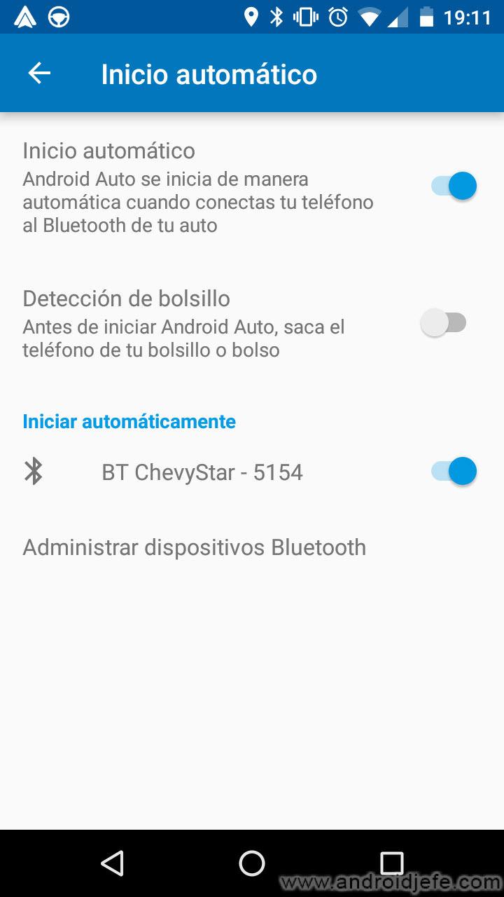 Automatiza el emparejamiento Bluetooth entre tu auto y celular mediante Android Auto