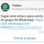 Ya puedes invitar a todo el mundo a tu grupo de WhatsApp generando un enlace o código QR